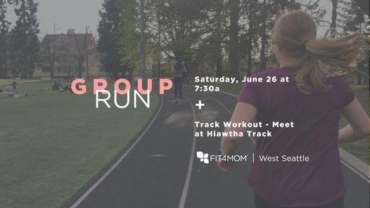 Group Run - Meet at Hiawtha