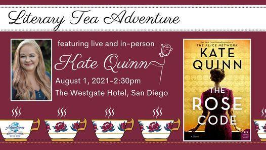 Literary Tea featuring Kate Quinn