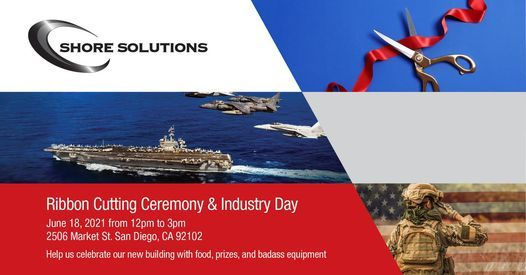 Ribbon Cutting Ceremony & Industry Day