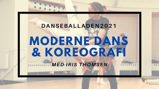 Danseballaden 2021 - MODERNE DANS & KOREOGRAFI WORKSHOP