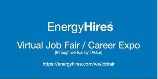 EnergyHires Virtual Job Fair \/ Career Expo Event