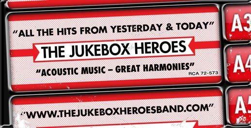 The JukeBox Heroes at Flo & Santos