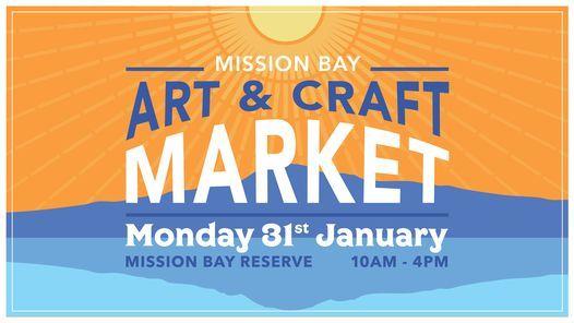 Mission Bay Art & Craft Market - Labour Day 2021