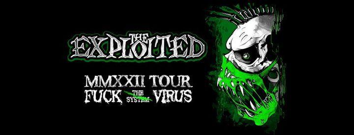 The Exploited. MMXX Tour - \u0413\u041b\u0410\u0412CLUB \u041c\u043e\u0441\u043a\u0432\u0430