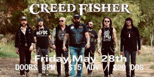 ***POSTPONED*** CREED FISHER at Bigs Bar Sioux Falls