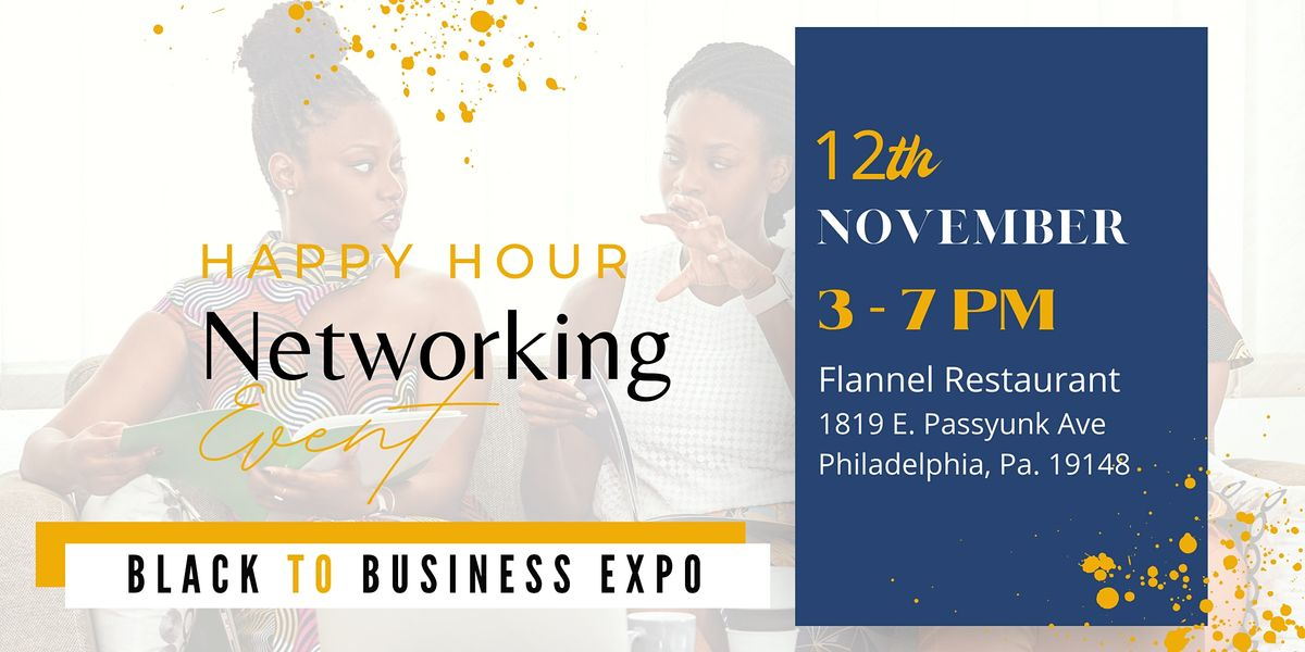 Networking with Happy Hour