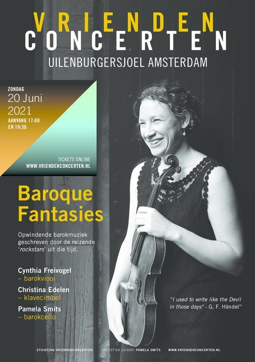 Baroque Fantasies - Opwindende barokmuziek geschreven door de reizende \u2018rockstars\u2019 uit die tijd.