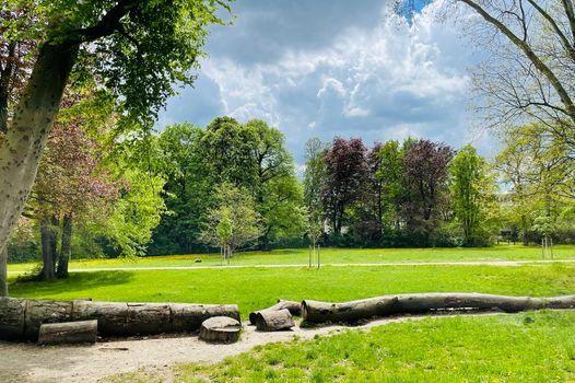 MOMS OUTDOOR FITNESS Stadtpark Steglitz -mit Kind-