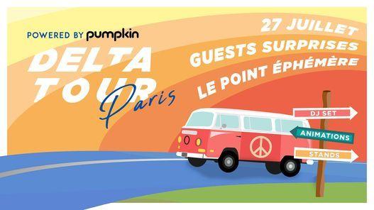 DELTA TOUR x Le Point \u00c9ph\u00e9m\u00e8re - Paris