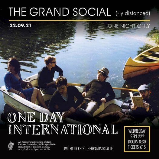 The Grand Social(ly Distanced) Presents: ONE DAY INTERNTIONAL