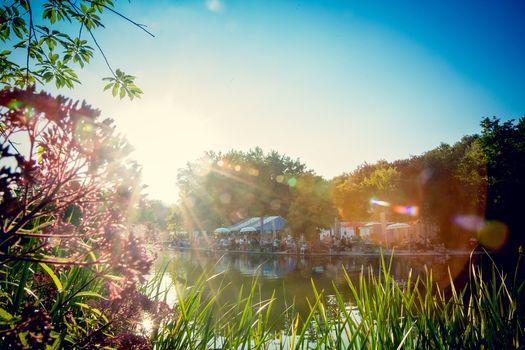 Morgenmeditation im Gans am Wasser