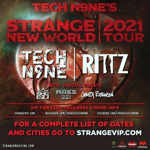 Seattle, WA - Tech N9ne's Strange New World Tour 2021