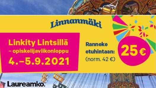 Laureamko goes Linkity Lintsill\u00e4!