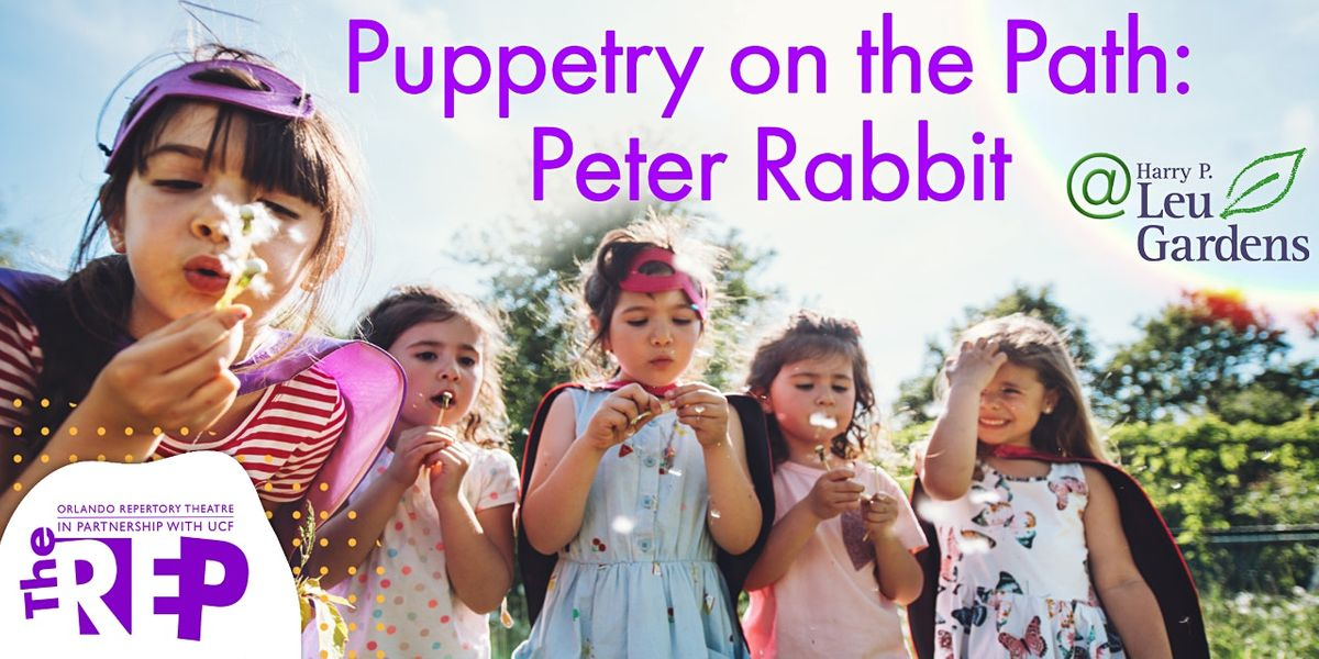 Puppetry on the Path - Peter Rabbit