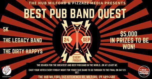The Hub Milford's Best Pub Band Quest Heat 5