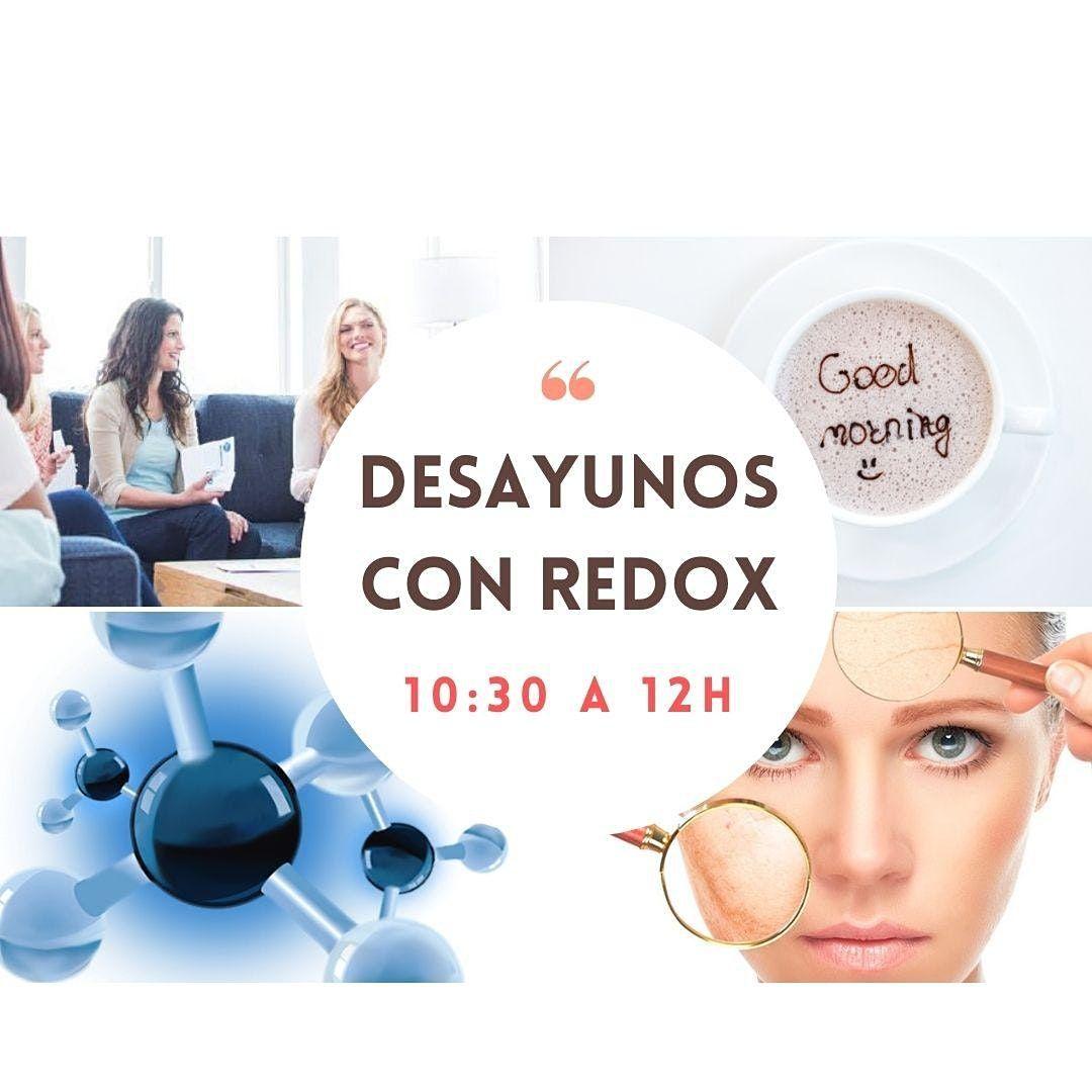 25  oct: DESAYUNOS con REDOX