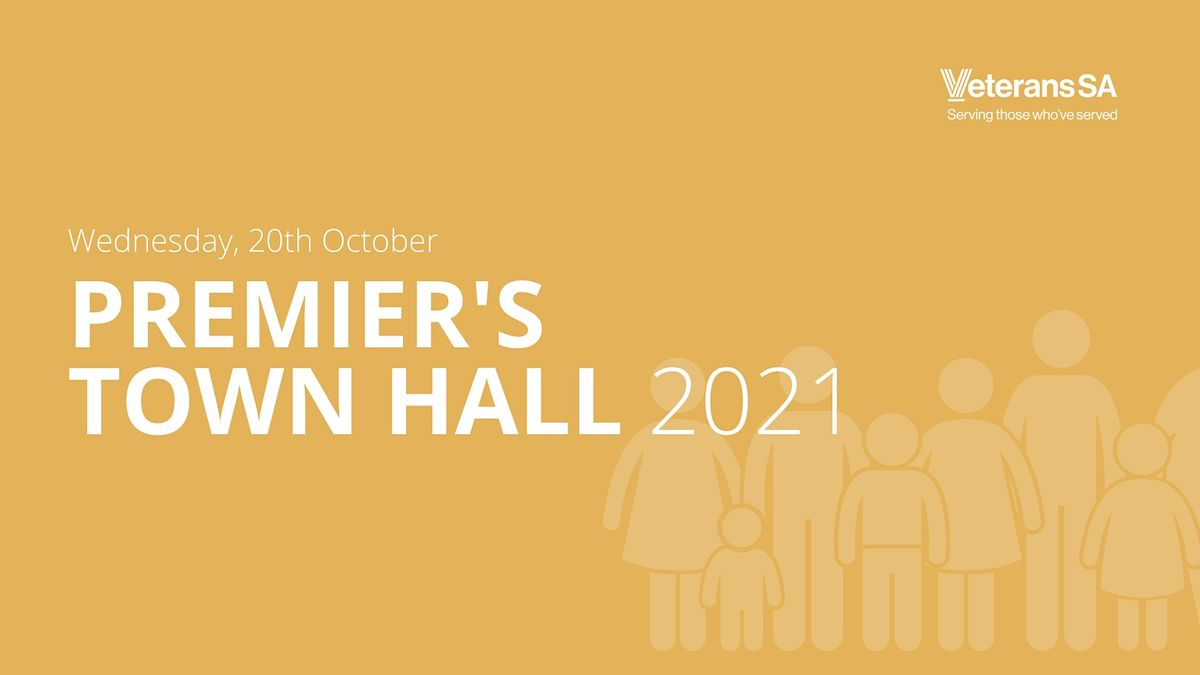 Premier's Town Hall  Meeting 2021