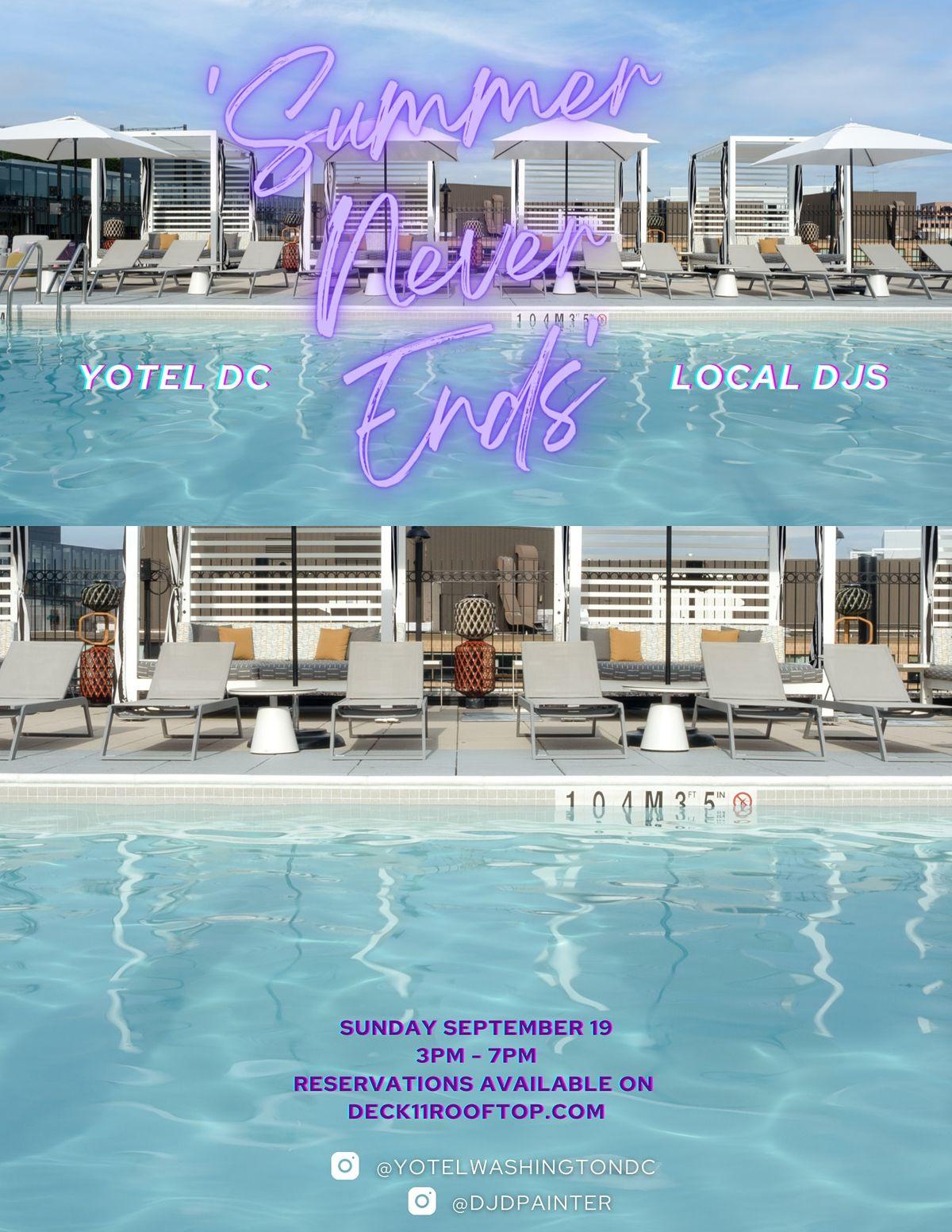 'Summer Never Ends' @ YOTEL's Deck`11