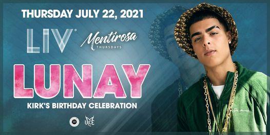 Lunay - Thurs. July 22nd