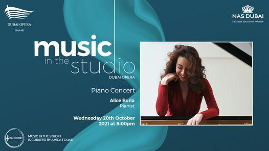 Alice Burla - Music in the Studio at Dubai Opera