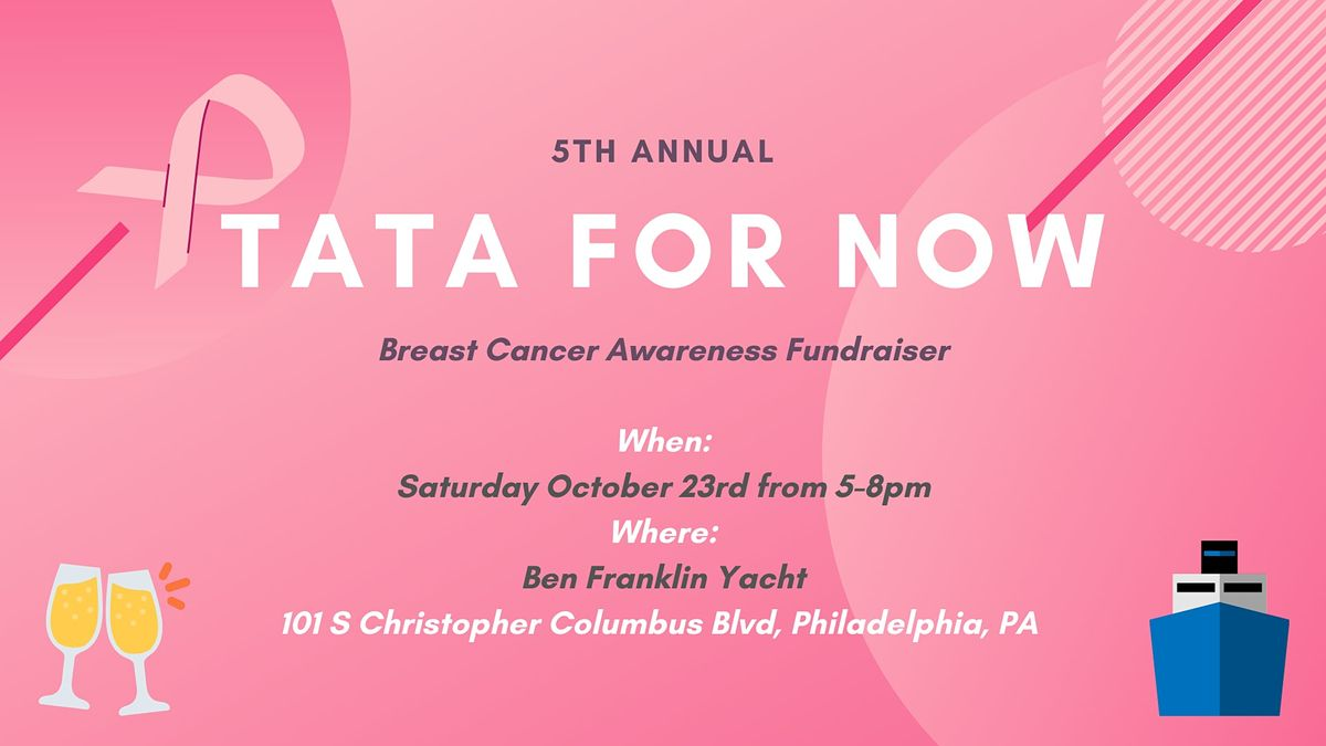 Ta Ta for Now Breast Cancer Sunset Yacht Cruise