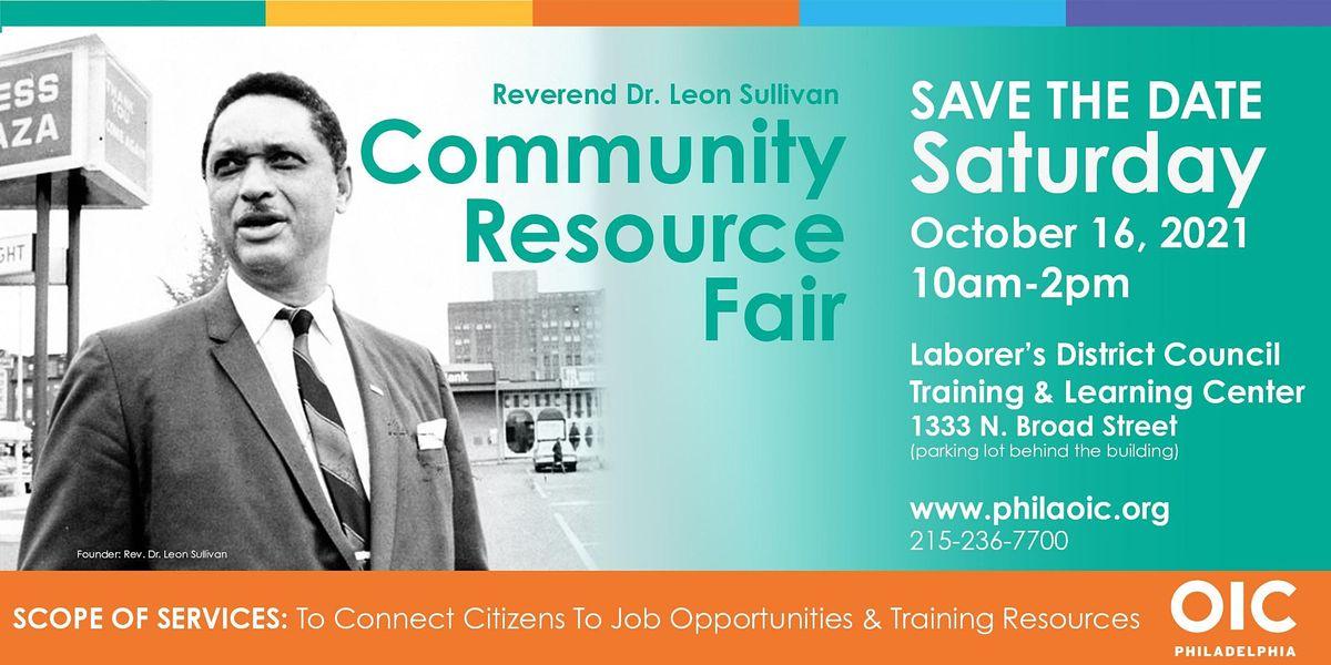 Reverend Dr. Leon Sullivan Community Resource Fair