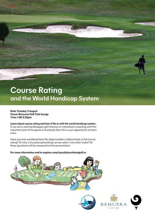 Course Rating Workshop