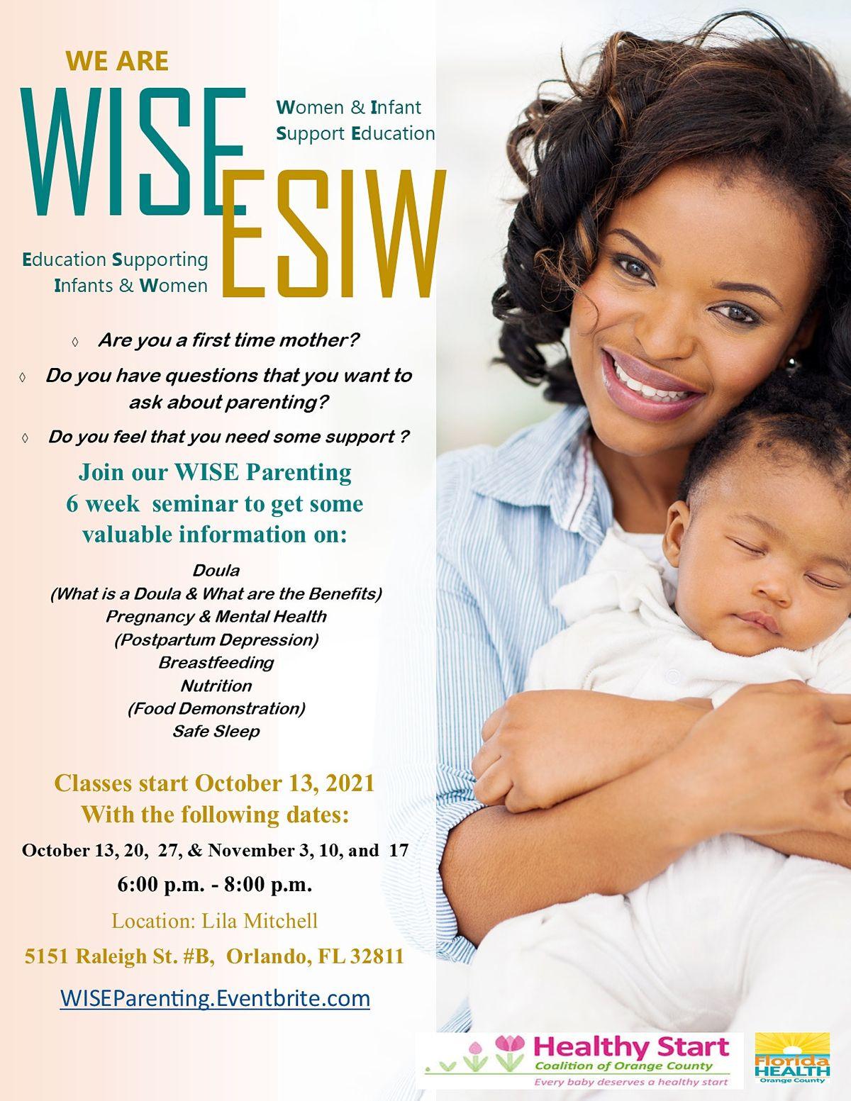 W.I.S.E - Women Infant Support Education