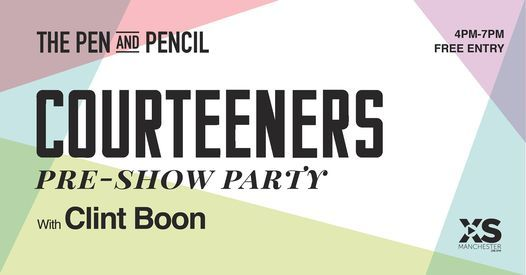 The Courteeners Pre-Show Party
