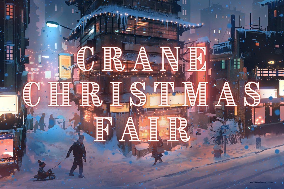 Crane Christmas Pop Ups