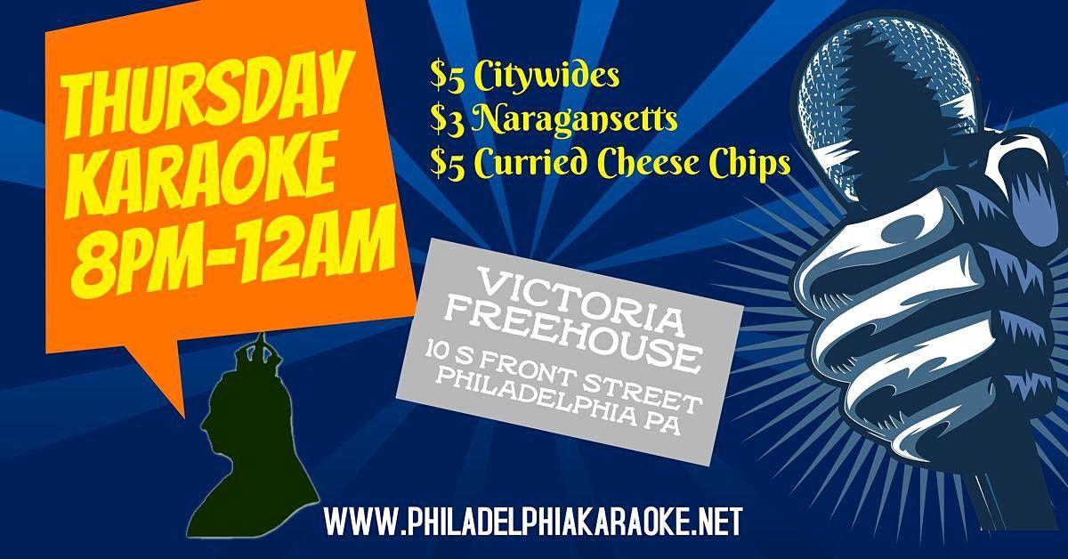 Thursday Karaoke at Victoria Freehouse (Philadelphia)