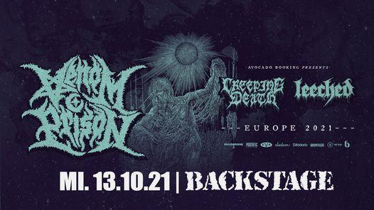 Venom Prison EU\/UK Tour 2021 l Backstage M\u00fcnchen