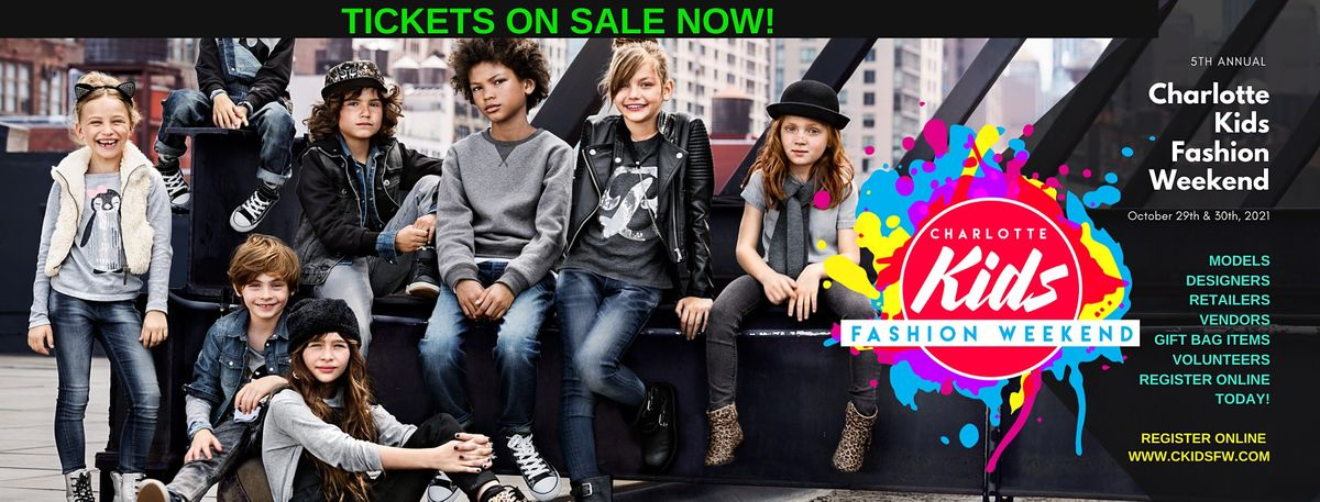 5th Annual Charlotte Kids Fashion Weekend