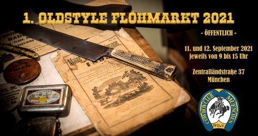 1. \u00d6ffentlicher Oldstyle-Flohmarkt 2021 (Sa+So)