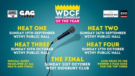WDCF New Act Competion - Heat Three!