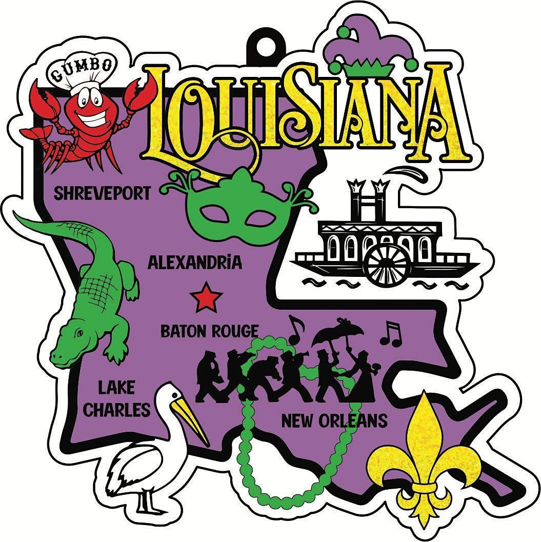 2021 Race Thru Louisiana 5K 10K 13.1 26.2 -Participate from Home Save $5