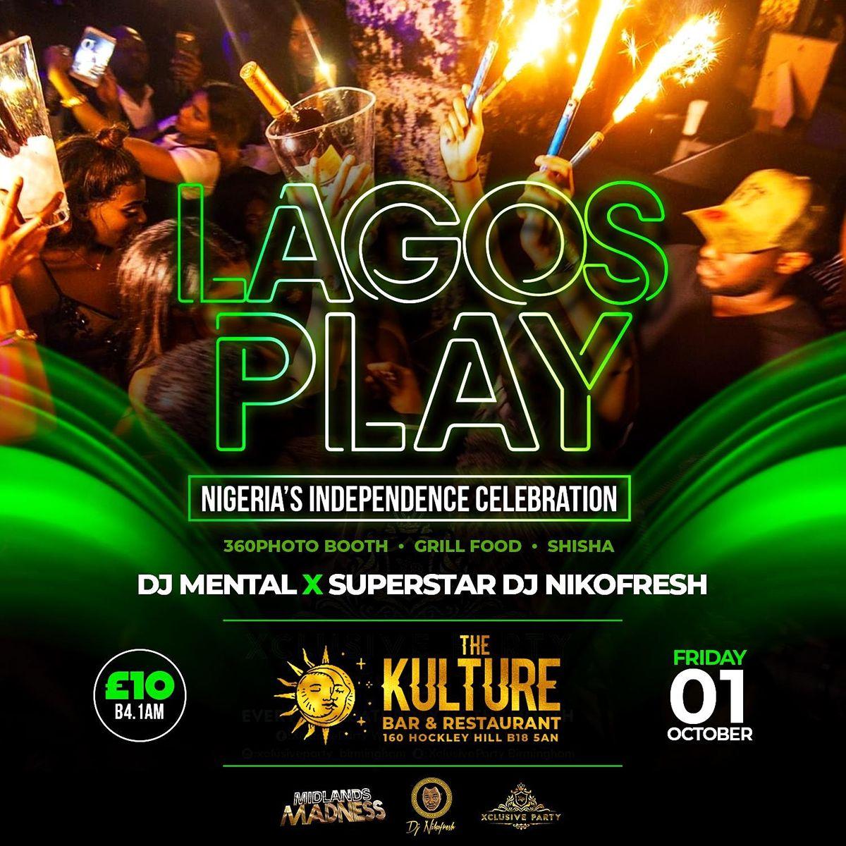 Lagos Play. Nigeria's Independence Bham