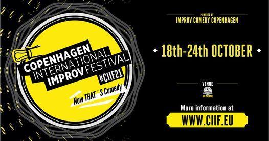 Copenhagen International Improv Festival 2021 | #ciif21