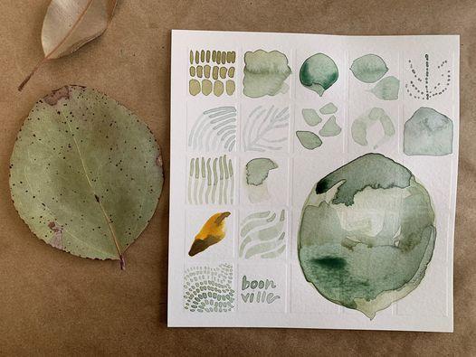 Mindful, Meditative Watercolors