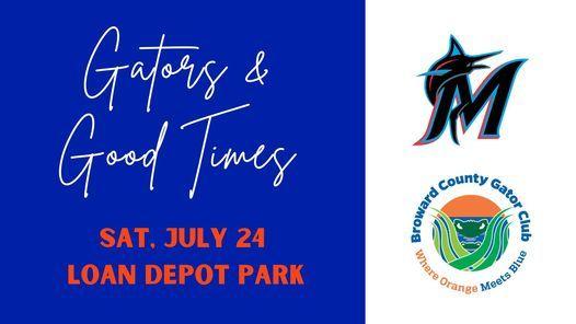Gators & Good Times at Loan Depot Park