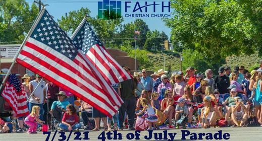 4th of July Parade w\/ Faith Christian Church in Boulder City