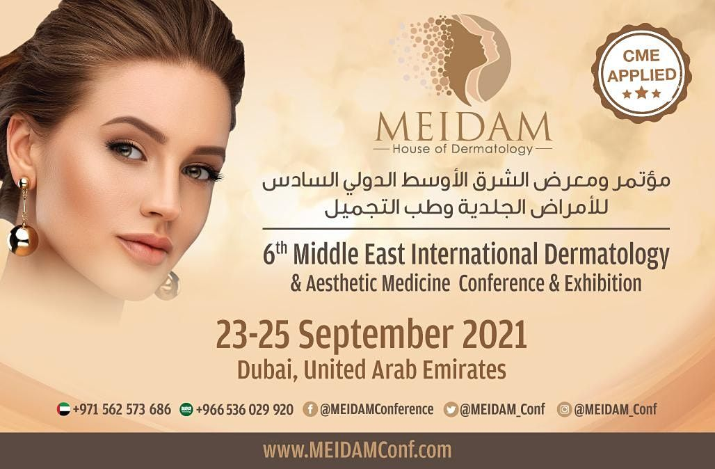 6th Middle East International Dermatology & Aesthetic Medicine Conf & Exhib