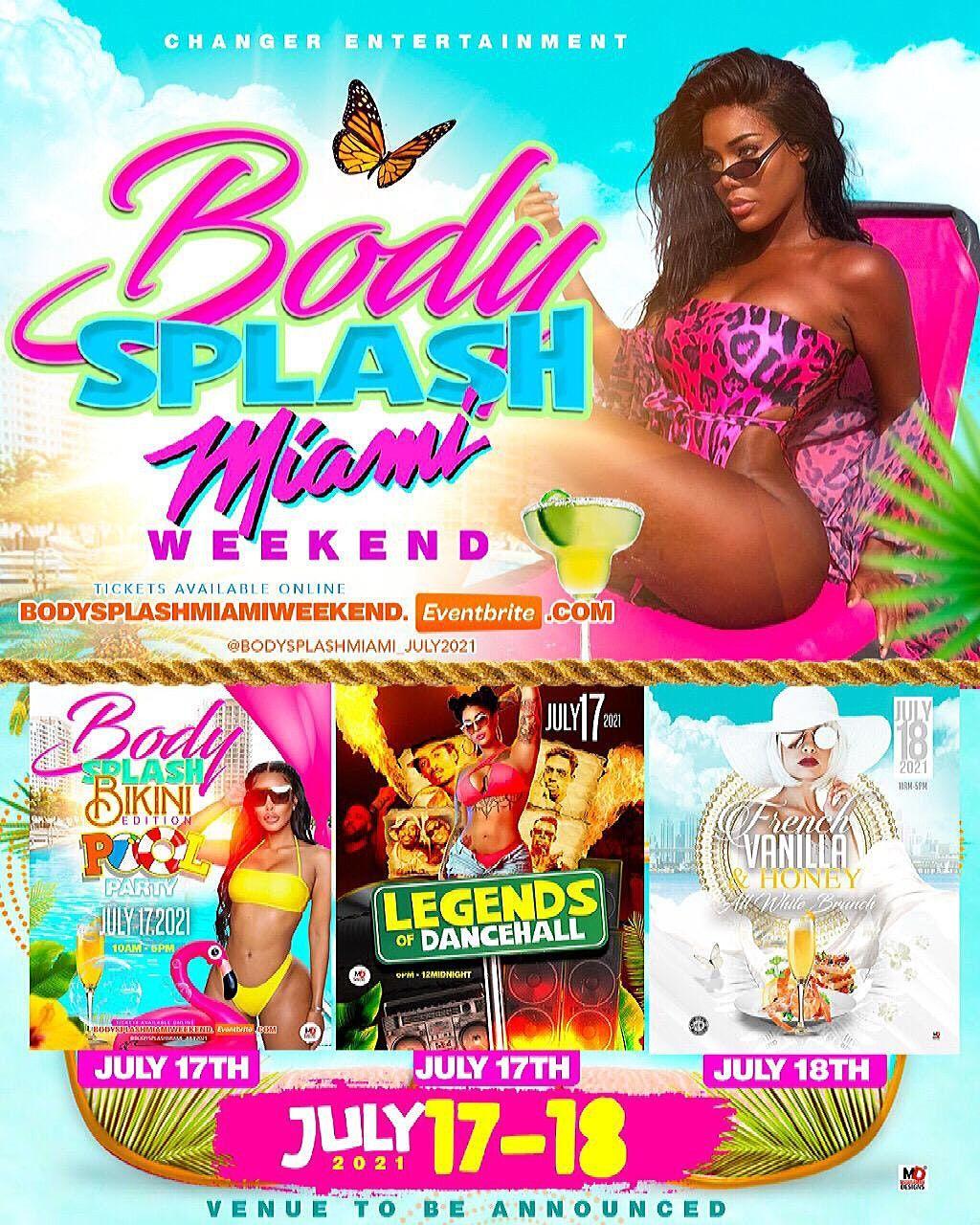 Body Splash Miami Weekend