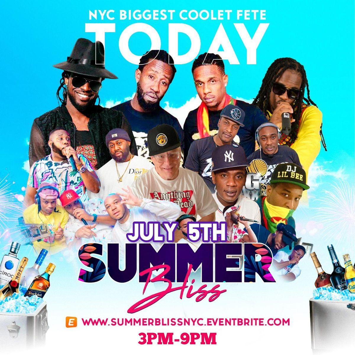 Summer Bliss - The Premium Summer Cooler Fete
