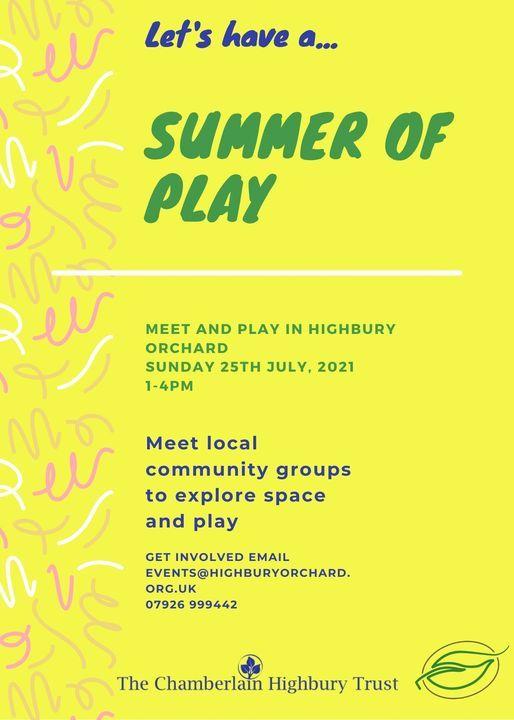 Summer of Play Showcase