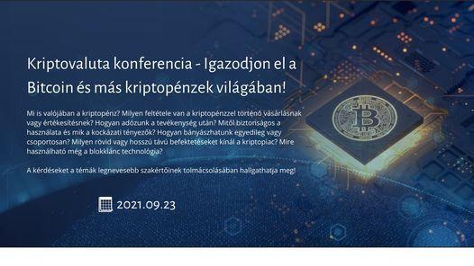 Kriptovaluta konferencia