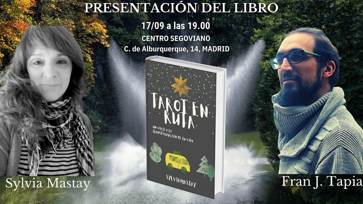 Presentaci\u00f3n del libro Tarot en ruta de Sylvia Mastay
