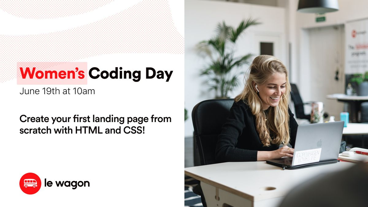 Women's Coding Day - Learn to code for free