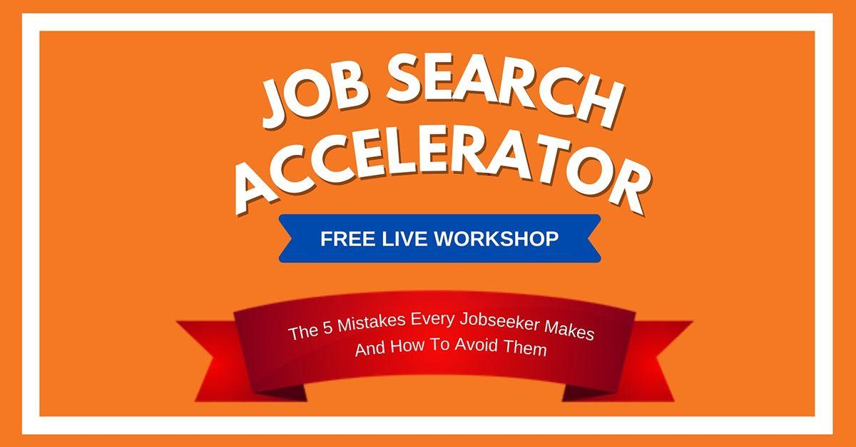 The Job Search Accelerator Workshop  \u2014 Auckland