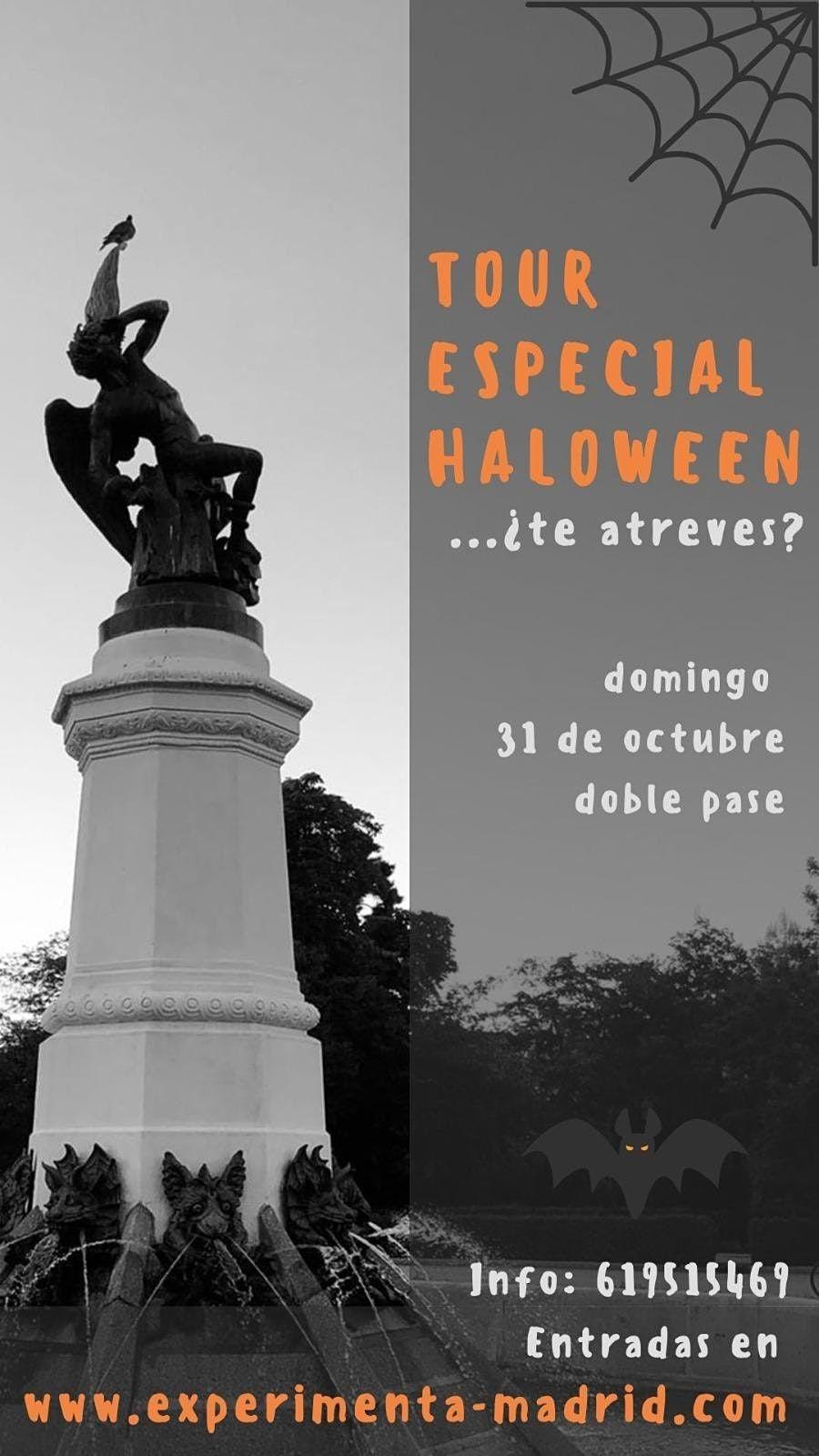 TOUR HALLOWEEN 2021- MADRID DE MIEDO!